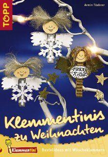 Klemmentinis zu Weihnachten: Bastelideen mit Wäscheklammern