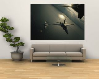 FA 18 Navy Jets in Flight over the Chesapeake Bay Wall Mural