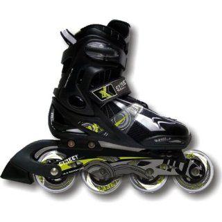 Inline Skates Extreme Black Gr.40 43 Sport & Freizeit