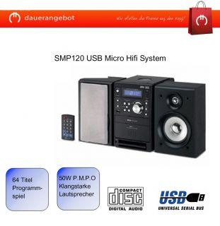 Silva SMP120 USB Micro Hifi System CD MP3 Radio USB TOP