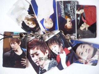 EunHyuk In SUPER JUNIOR Mobile /Cell Phone Strap Keychain Keyring N12