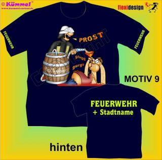Feuerwehr T Shirt 112 Jugendfeuerwehr Motiv 9