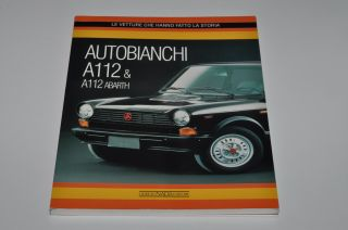 Kult Buch/book/libro Autobianchi A112 & Abarth, AS NEW, sold out in
