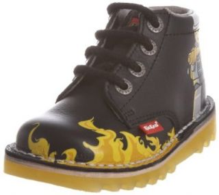 Kickers Kick Hi Lego Fire Toddler Black Ankle Boots Schuhe