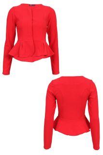 Public Desire   New Ladies Long Sleeved Evening Blazer Womens Tailored