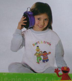 Pyjama Schlafanzug Bert Ernie langarm 92 98 104 116 122