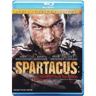 Spartacus   Blood And Sand The Complete First Season Import Blu ray