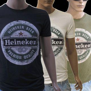 HEINEKEN BEER PREMIUM QUALITY VINTAGE T SHIRT S M L viele Farben