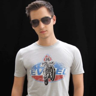 EVEL KNIEVEL VINTAGE T SHIRT S, M, L DAREDEVIL, JACKASS
