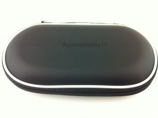BLACK HARD POUCH CARRY CASE COVER FOR SONY PS VITA PSVITA PSV PSP3000