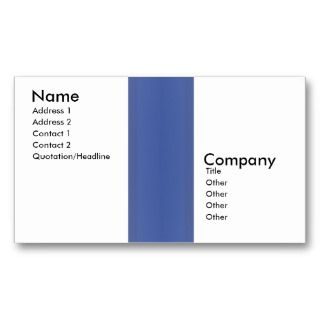 Business Center Collection Business Card