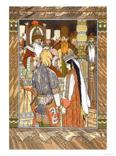 Prince and Princess Photo by Ivan Bilibin