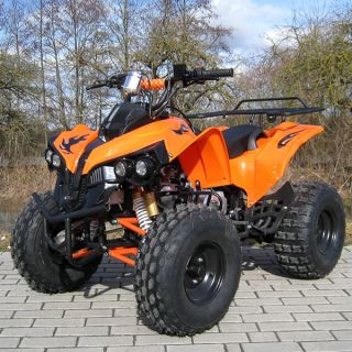 KINDER QUAD ATV 125 CC S 10 MIT CE ORANGE