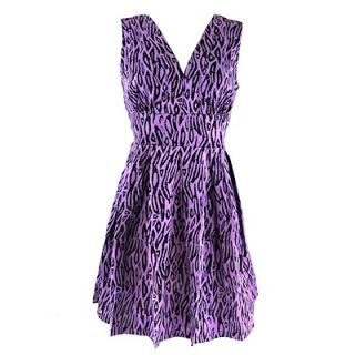 Sugarhill Boutique Kleid LILY TRIBAL purple black XL