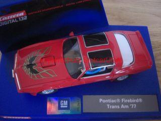 Carrera Digital 132 30481 Pontiac Firebird Trans Am 77