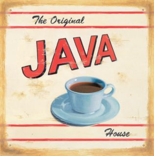 The Original Java House Posters by Lisa Alderson