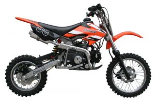 ICS CBF 88 Enduro Cross Dirt Bike 125CC/4Takt Orange