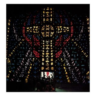 Stained Glass Window, April 24, 1965 Giclee Print by Wayne Miller