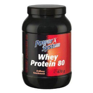 Power System Whey Protein 80   erdbeere   675g