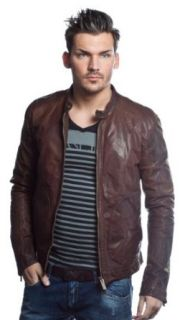 AJ Armani Jeans Lederjacke Limited Edition braun