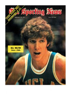 UCLA Bruins Bill Walton   February 23, 1974 Posters