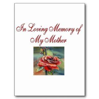 In Loving Memory Postcards & Postcard Template Designs