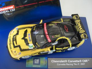 Carrera Digital 132 30581 Chevrolet Corvette C6R BAD BOYS Racing 2007