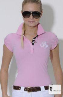 Spooks Damen Polo Shirt Lina , Farben navy , rosa , ocean