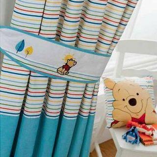 Puuh Vorhänge mit Kräuselband   Pooh Sunny Day   167 x 137 cm