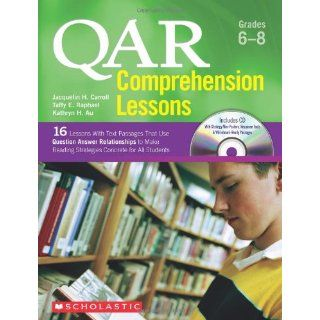Qar Comprehension Lessons Grades 6 8 16 Lessons with Text Passages