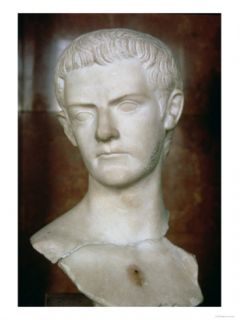 Emperor Caligula Roman, circa 31 38 Giclee Print