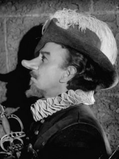 Jose Ferrer in Costume and Makeup as Cyrano de Bergerac Premium Photographic Print by J. R. Eyerman