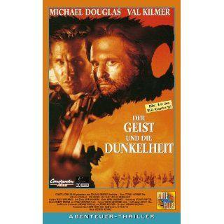 Der Geist und die Dunkelheit [VHS] Michael Douglas, Val Kilmer, Tom