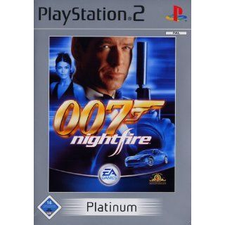 James Bond 007   Nightfire [Platinum] Playstation 2 Games