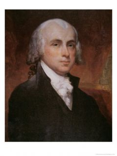 James Madison Giclee Print by George Peter Alexander Healy