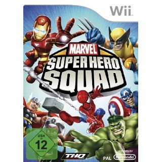 Marvel Super Hero Squad Games