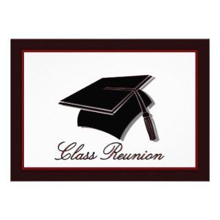 School reunion high school education Invitations