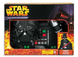 Darth Vader Star Wars Starwars Kostüm Kinder Set Gr. 146   158