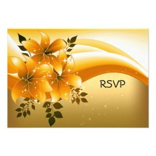 Black Floral Birthday Party Personalized Invitations