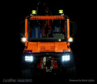BRICK LIGHT KIT for Mercedes Benz Unimog U 400 Lego Technic 8110 9395