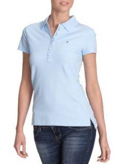 Tommy Hilfiger Damen Shirt/ Poloshirt, CHIARA STR PQ POLO SS