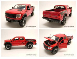 Ford F 150 SVT Raptor Pick Up 2011 rot, Modellauto 124 / Jada Toys