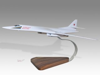 Tupolev TU 160 Blackjack Aleksandr Molodchiy Wood Model