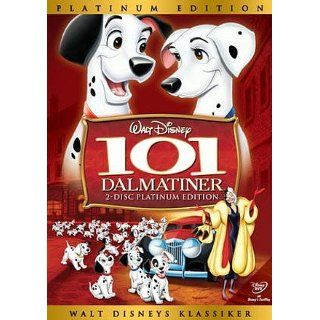 101 Dalmatiner Platinum Edition (2 DVDs) Walt Disney: