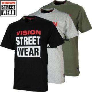 Vision Street Wear Logo Tee S M L XL Skateboarding Streetwear