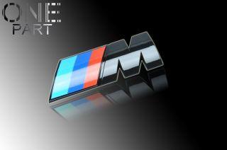 BMW Schwarz Glaenzend Emblem BMW M1 M135 M10 M172 M193 M194 M167 M3