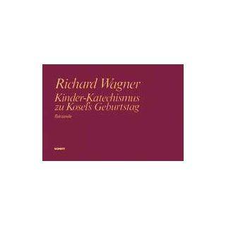 106. Solo, Kinderchor und Orchester. Partitur. Richard