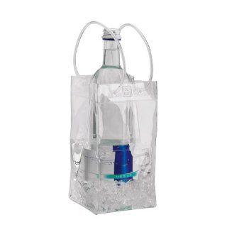 Flaschenkühler Ice.Bag® Mini Clear transparent Weinkühler