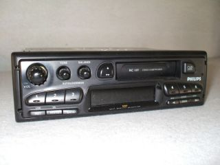 Radio Autoradio ORIGINAL Philips RC 169 Stereo Cassette Philips Car
