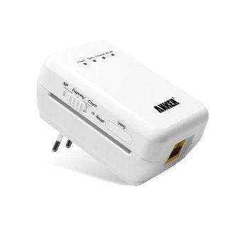 Anker® kompakt WLAN Wireless N WiFi Repeater Access Point Range